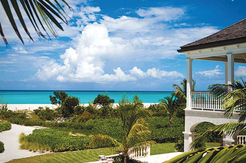 Amazing Grace, an eight-acre estate on 280 feet of Grace Bay beach, is for sale for $14.5 million.