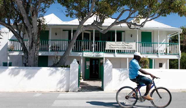 The Turks and Caicos National Museum is located on Grand Turk.